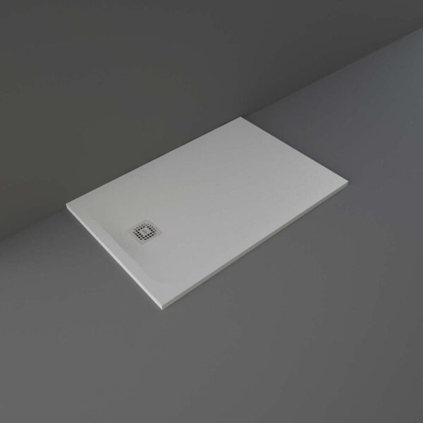 Grey RAK Feeling shower tray 1200x800mm