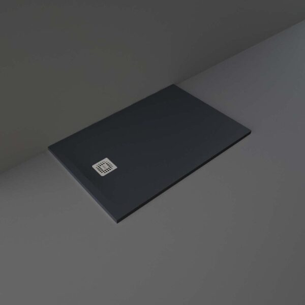Black RAK Feeling shower tray 1200x800mm