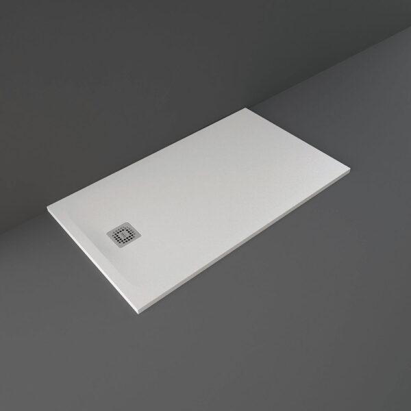 White RAK Feeling shower tray 1400x800mm