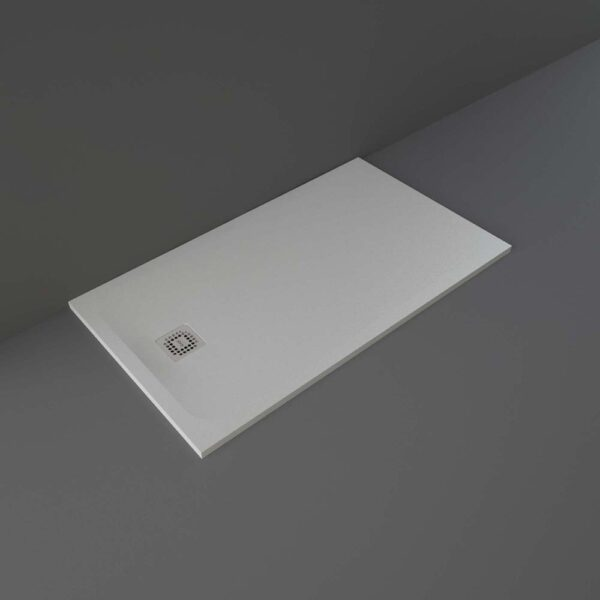Grey RAK Feeling shower tray 1400x800mm