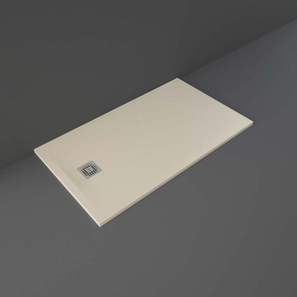 Cappuccino RAK Feeling shower tray 1400x800mm