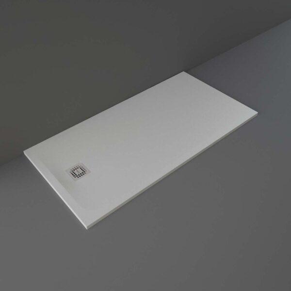 Grey RAK Feeling shower tray 1600x800mm