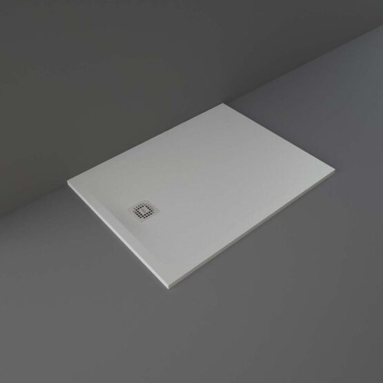 Grey RAK Feeling shower tray 1200x900mm