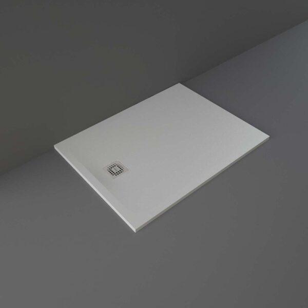 Grey RAK Feeling shower tray 1200x900mm