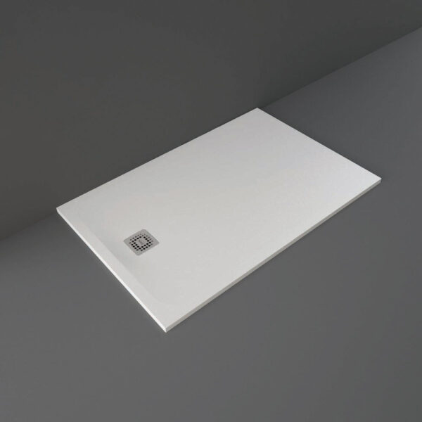 White RAK Feeling shower tray 1400x900mm