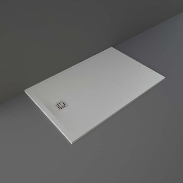 Grey RAK Feeling shower tray 1400x900mm