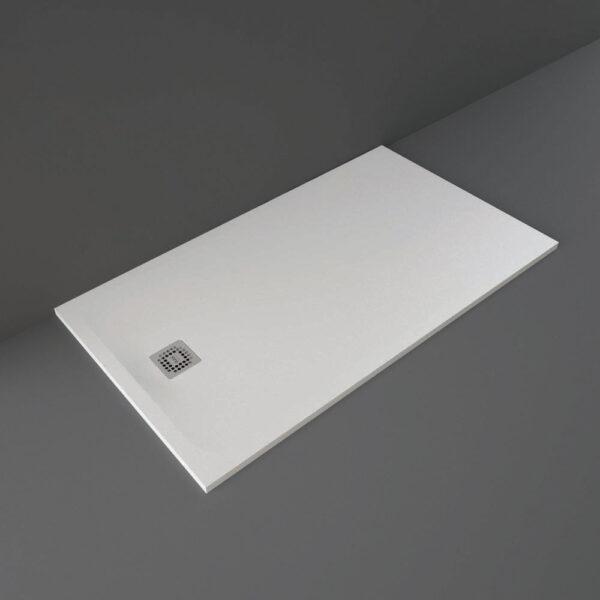 White RAK Feeling shower tray 1600x900mm