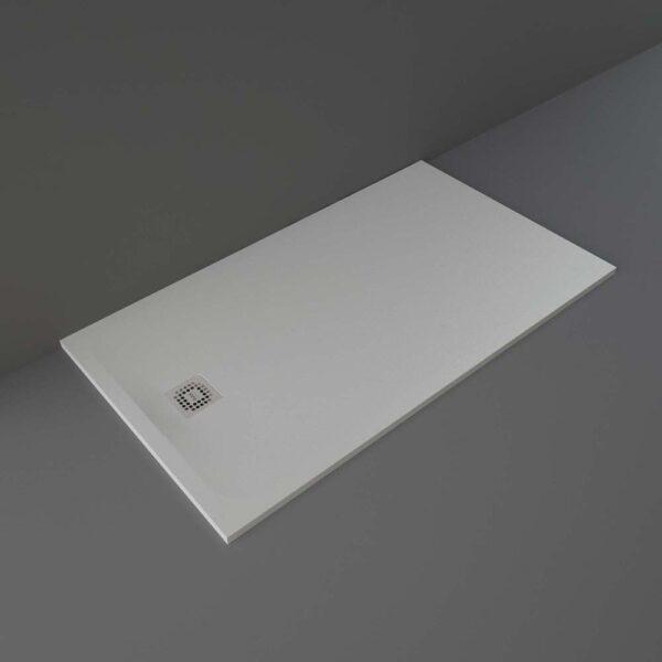 Grey RAK Feeling shower tray 1600x900mm