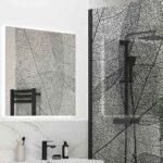 Reflexion-Iconix-Wetroom-Panel-Black-Leaves