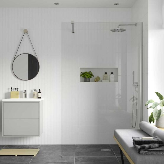 Reflexion Iconix Wetroom shower screen