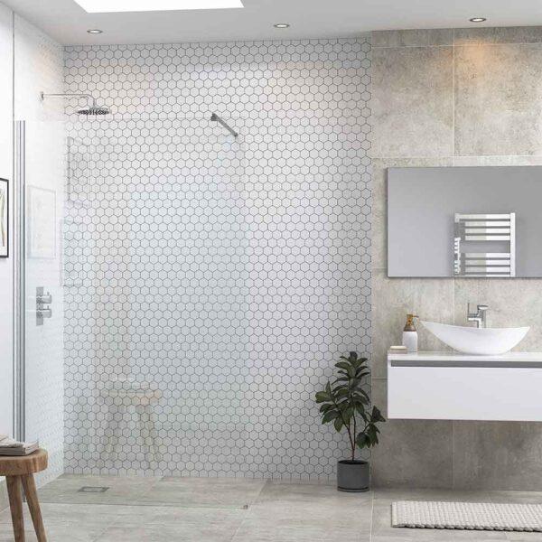 Reflexion Flex Wetroom shower screen