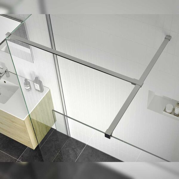 Reflexion Iconix Wetroom Panel & side panel bracing support bar