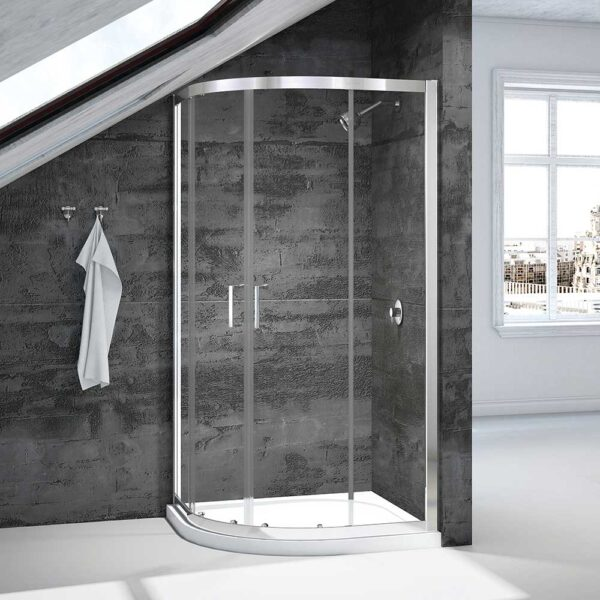 Merlyn Vivid Boost 2 door curved quadrant shower enclosure