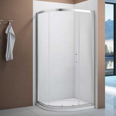 Merlyn Vivid Boost single door curved quadrant shower enclosure
