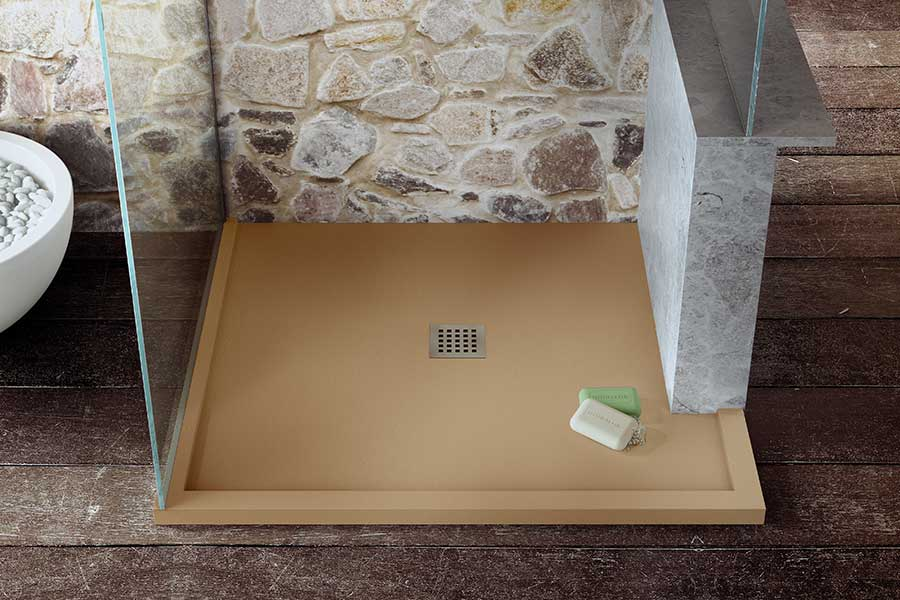 Firoa coloured made to measure shower tray